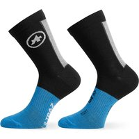 Assos ASSOSOIRES Ultraz Winter Socks - Black Series  - M/L von Assos