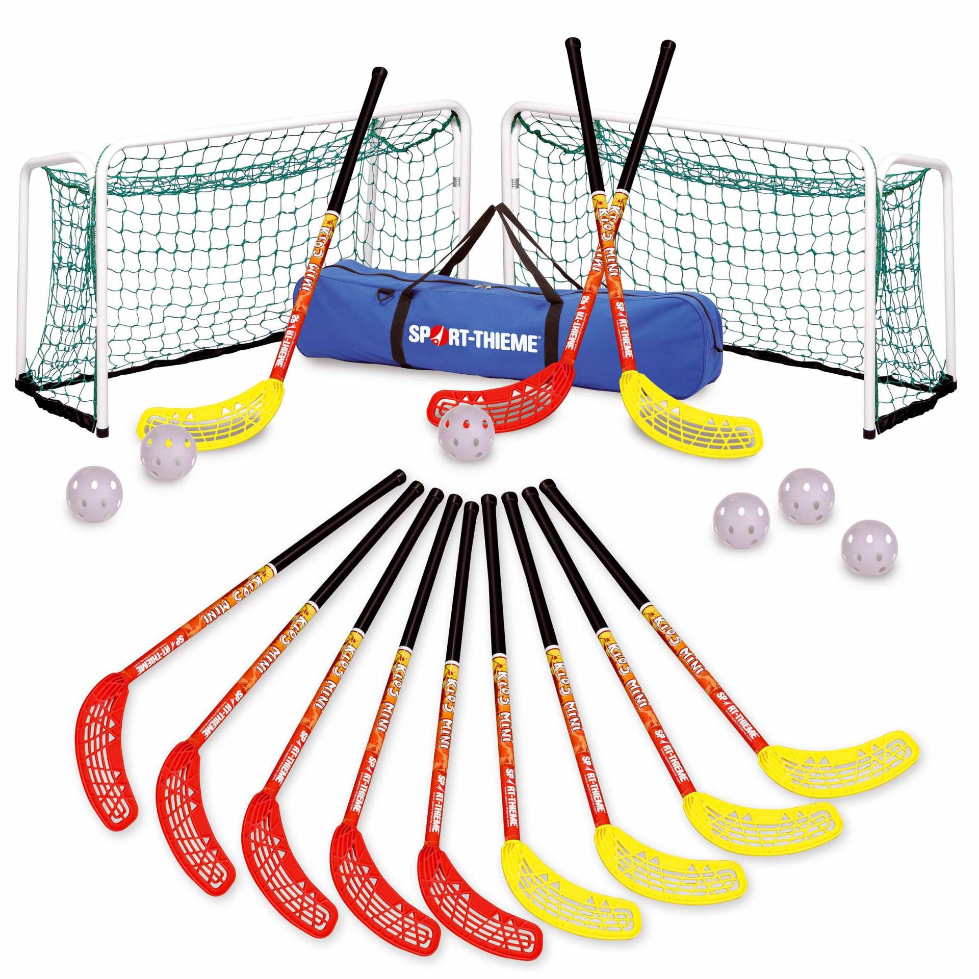 "Floorball Kombi-Set ""Kids Mini"" von Sport-Thieme"