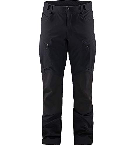 Haglöfs Wanderhose Herren Wanderhose Rugged Mountain Pant Men Atmungsaktiv, Wasserdicht Extra Small True Black Solid Long M M - Empty for carryovers - von Haglöfs