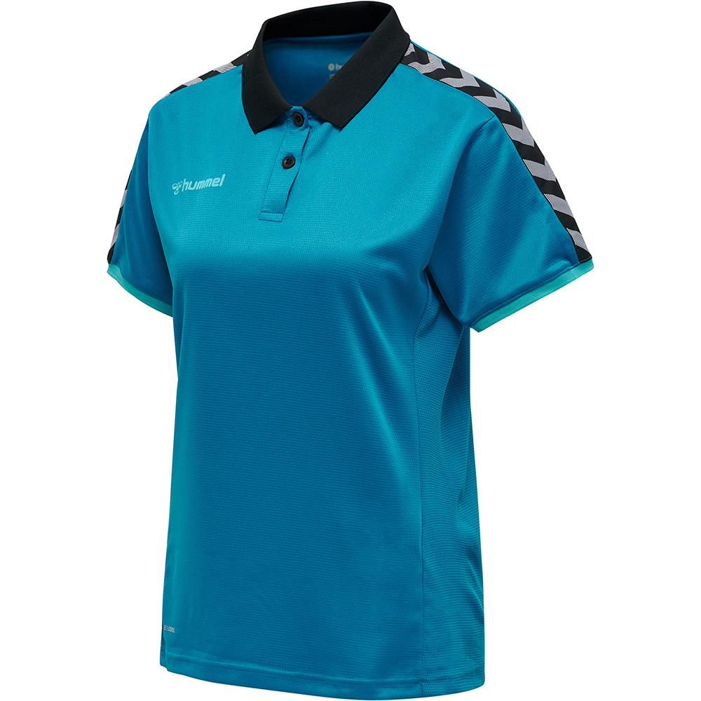 Hummel Authentic Functional Poloshirt Damen - blau