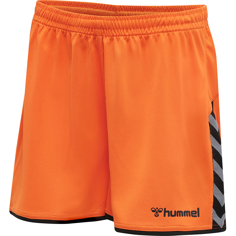 Hummel Authentic Poly Short Damen - orange
