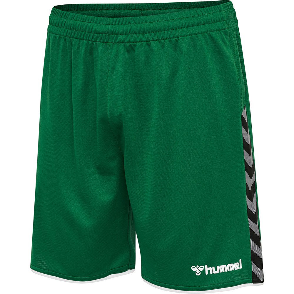 Hummel Authentic Poly Short Kinder - grün