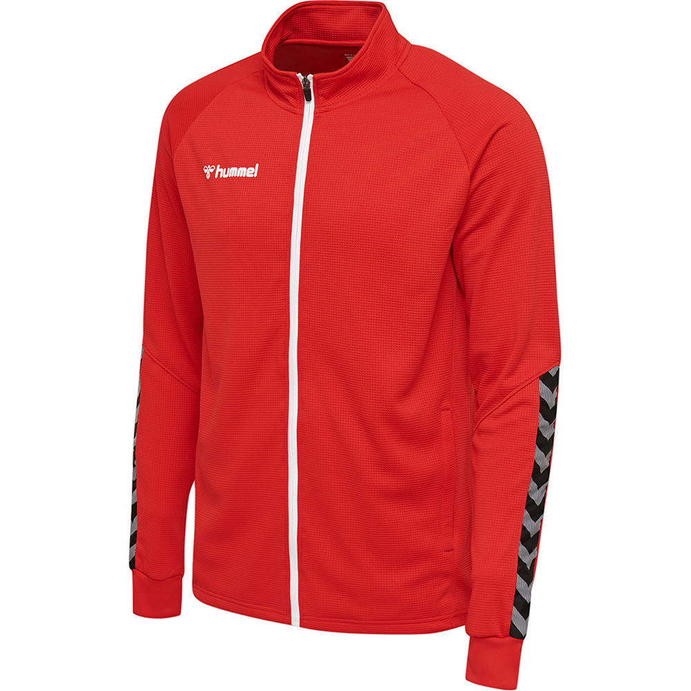 Hummel Authentic Poly Zip Jacke Kinder - rot
