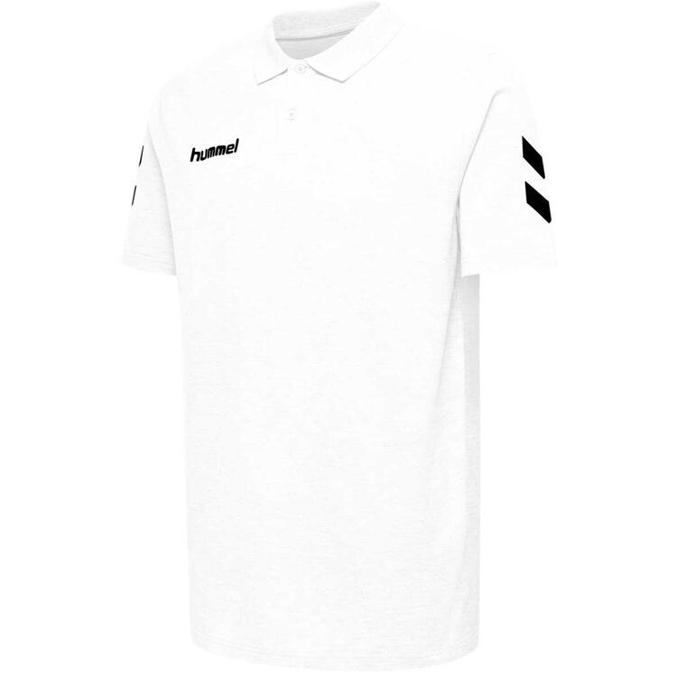 Hummel HMLGO COTTON POLO WHITE 203520-9001 Gr. S