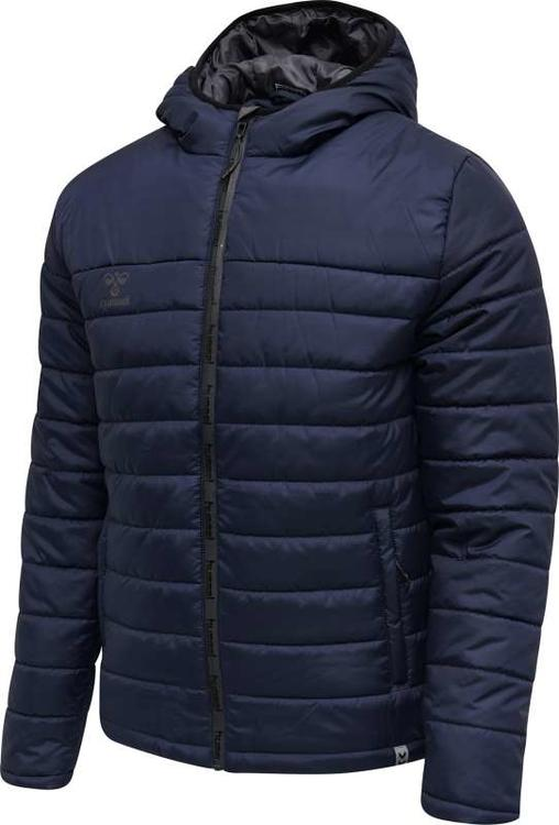 Hummel NORTH QUILTED HOOD JACKET MARINE 206687-7026 Gr. S