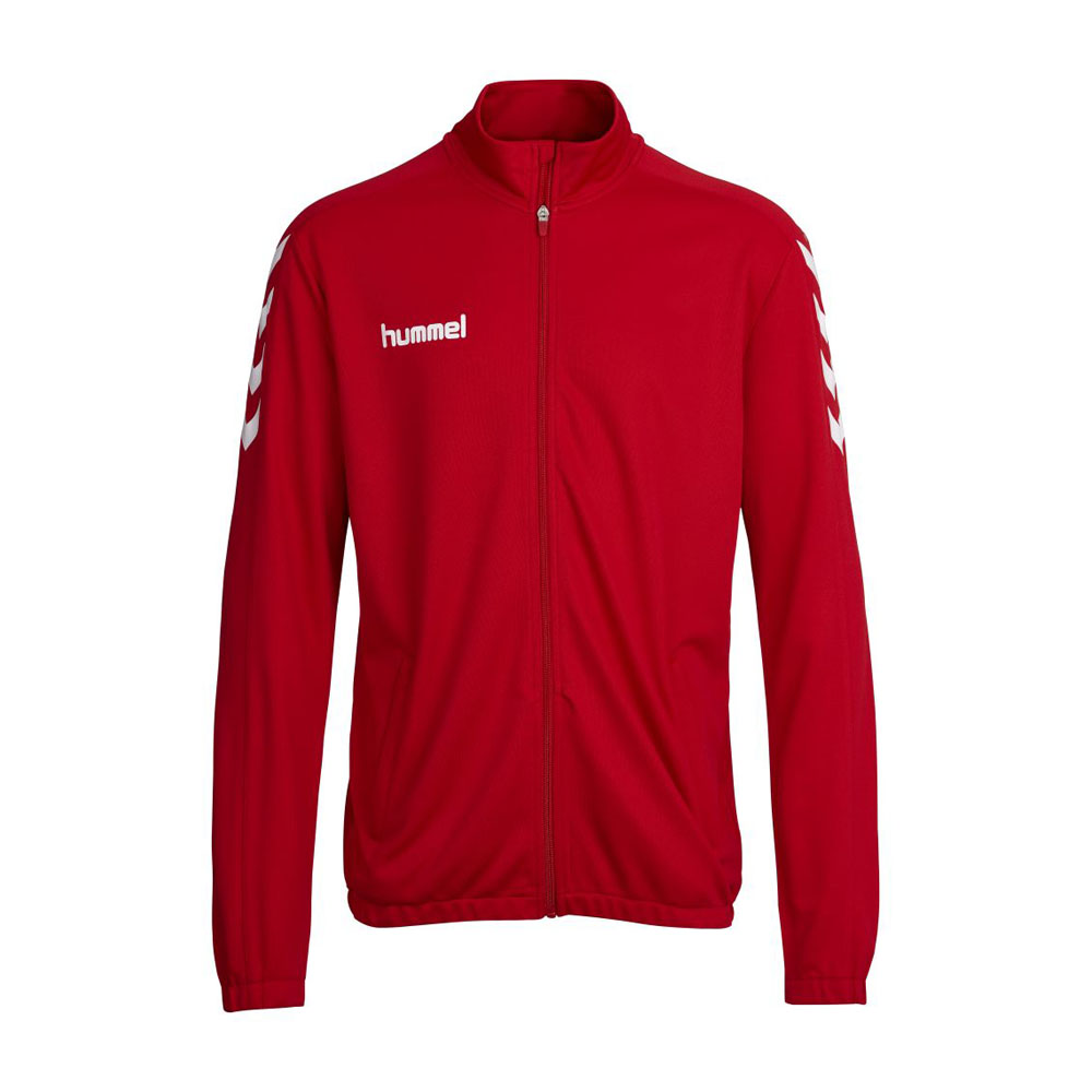 Hummel Polyesterjacke Core Kinder - rot