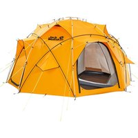 Jack Wolfskin Base Camp Dome Zelt Burly Yellow