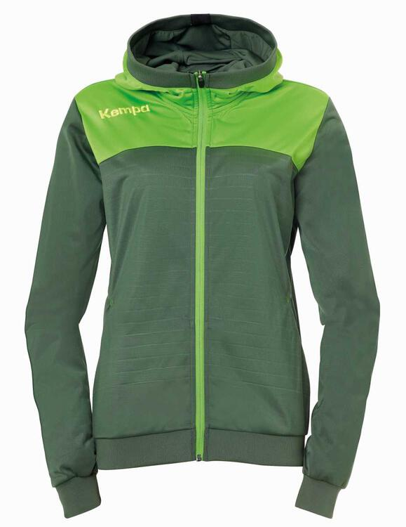 Kempa EMOTION 2.0 KAPUZENJACKE WOMEN 200225715 dragon grün/hope...