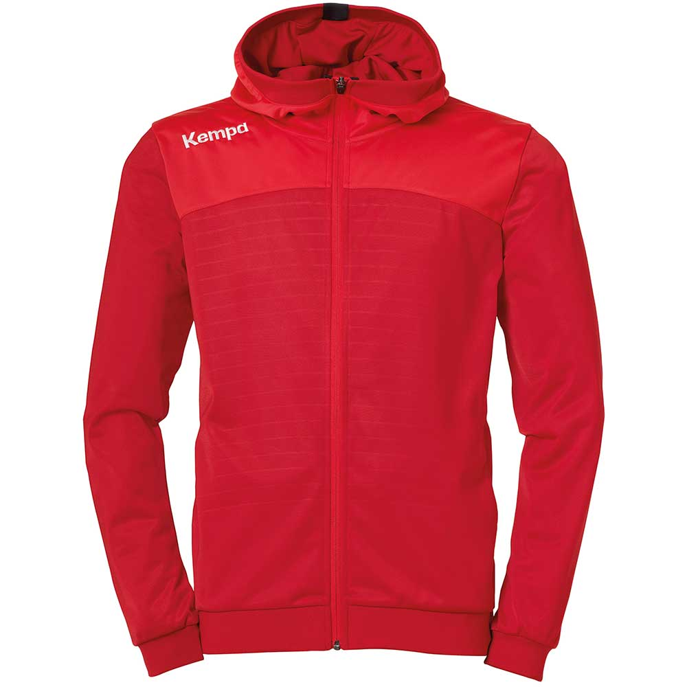 Kempa Emotion 2.0 Kapuzenjacke Kinder - rot