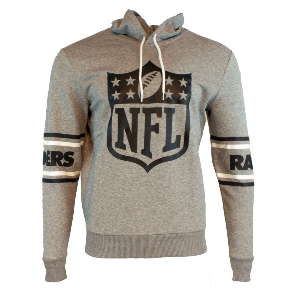 New Era Hoody Oakland Raiders - grau