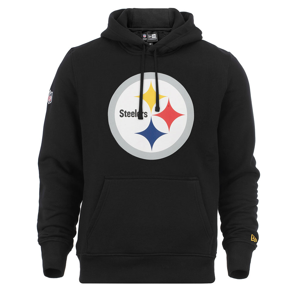 New Era Hoody Pittsburgh Steelers - schwarz