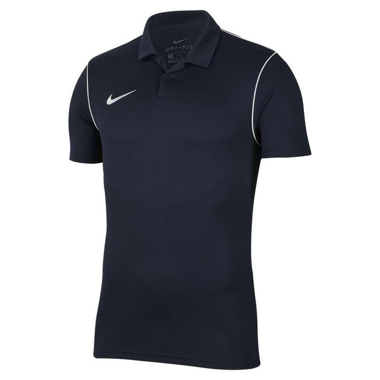 Nike MEN'S NIKE-DRI-FIT PARK20 POLO MEN' OBSIDIAN/WHITE/WHITE...