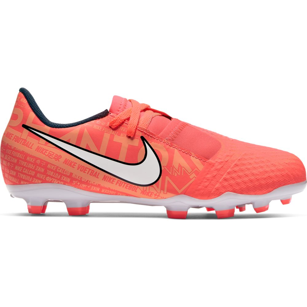 Nike Phantom Venom Academy FG Kinder - rot|orange