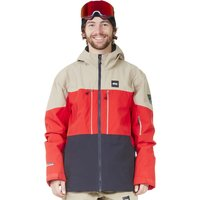 Picture Object Jacket Red Dark Blue