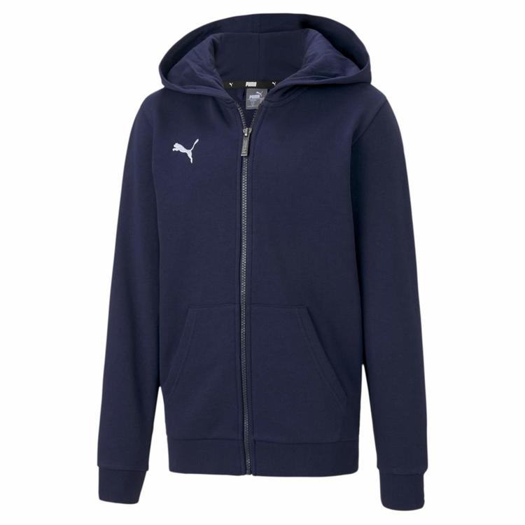Puma teamGOAL 23 Casuals Hooded Jac Peacoat 656714 06 Gr. 140