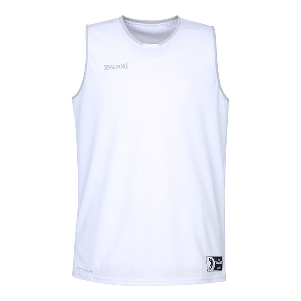 Spalding Move Tank Top Kinder - weiss