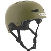 TSG Evolution Solid Color Skatehelm Satin-Olive