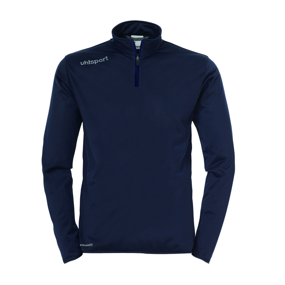 Uhlsport Essential 1/4 Zip Top Kinder - blau