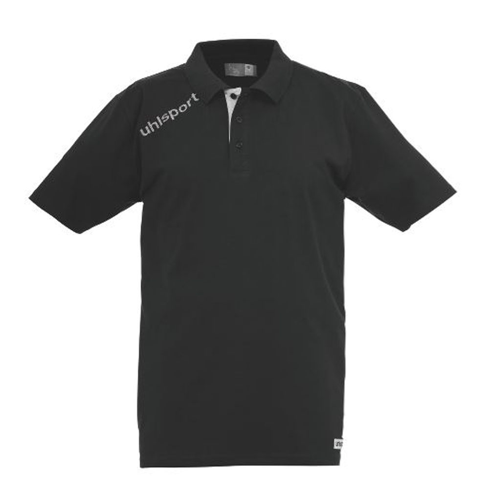 Uhlsport Essential Polo Shirt Herren - schwarz