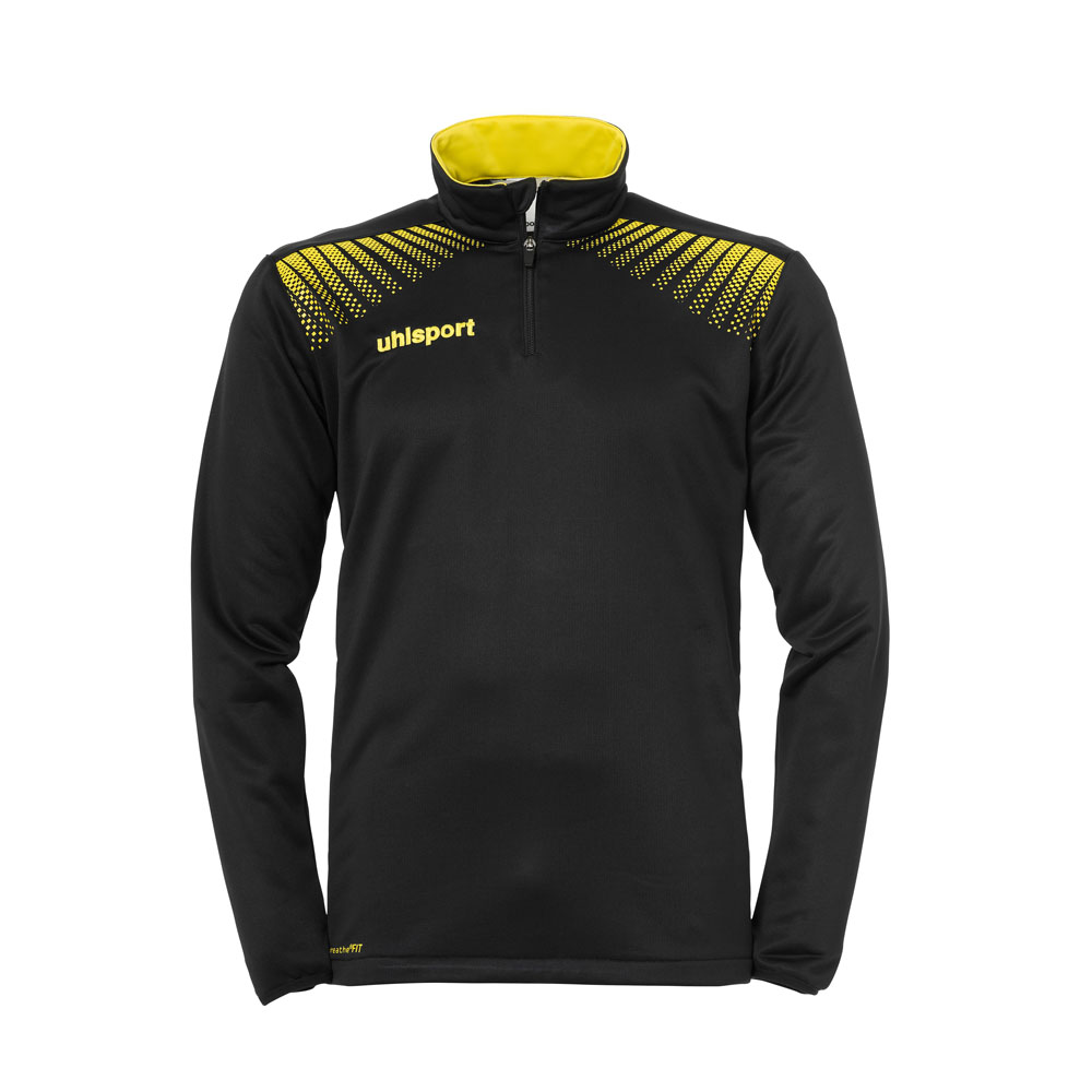 Uhlsport Goal 1/4 Zip Top Herren - schwarz