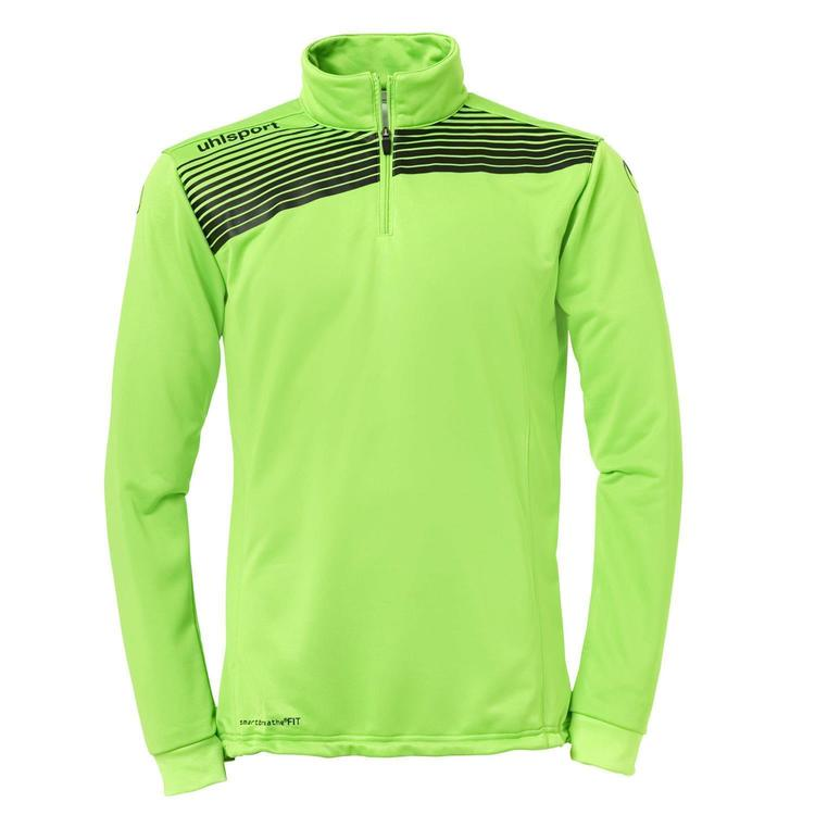 Uhlsport LIGA 2.0 1/4 ZIP TOP grün flash schwarz 100213405 Gr. 164