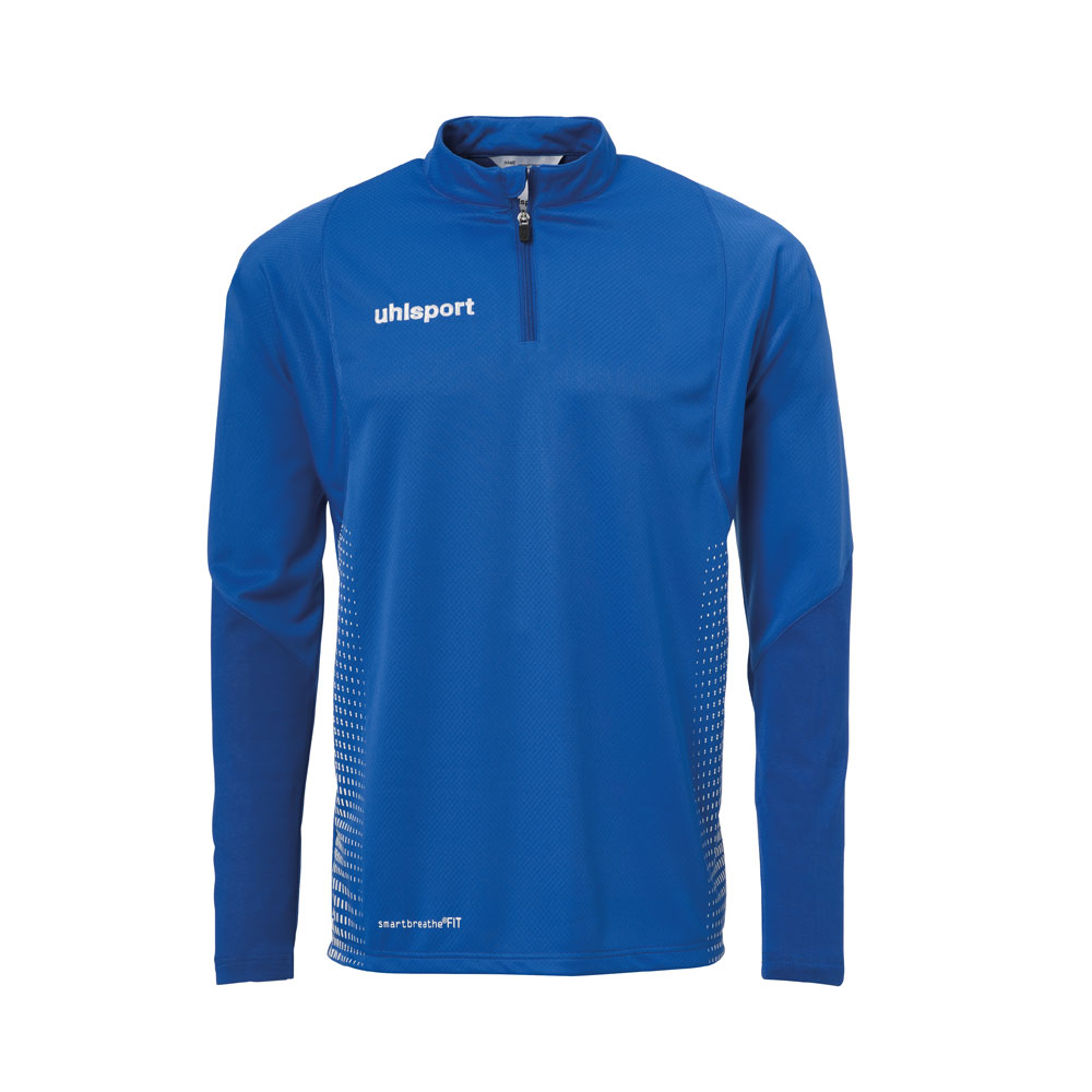 Uhlsport Score 1/4 Zip Top Herren - blau