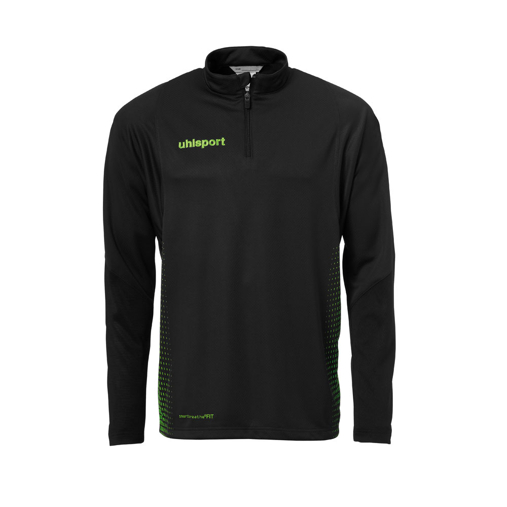 Uhlsport Score 1/4 Zip Top Herren - schwarz