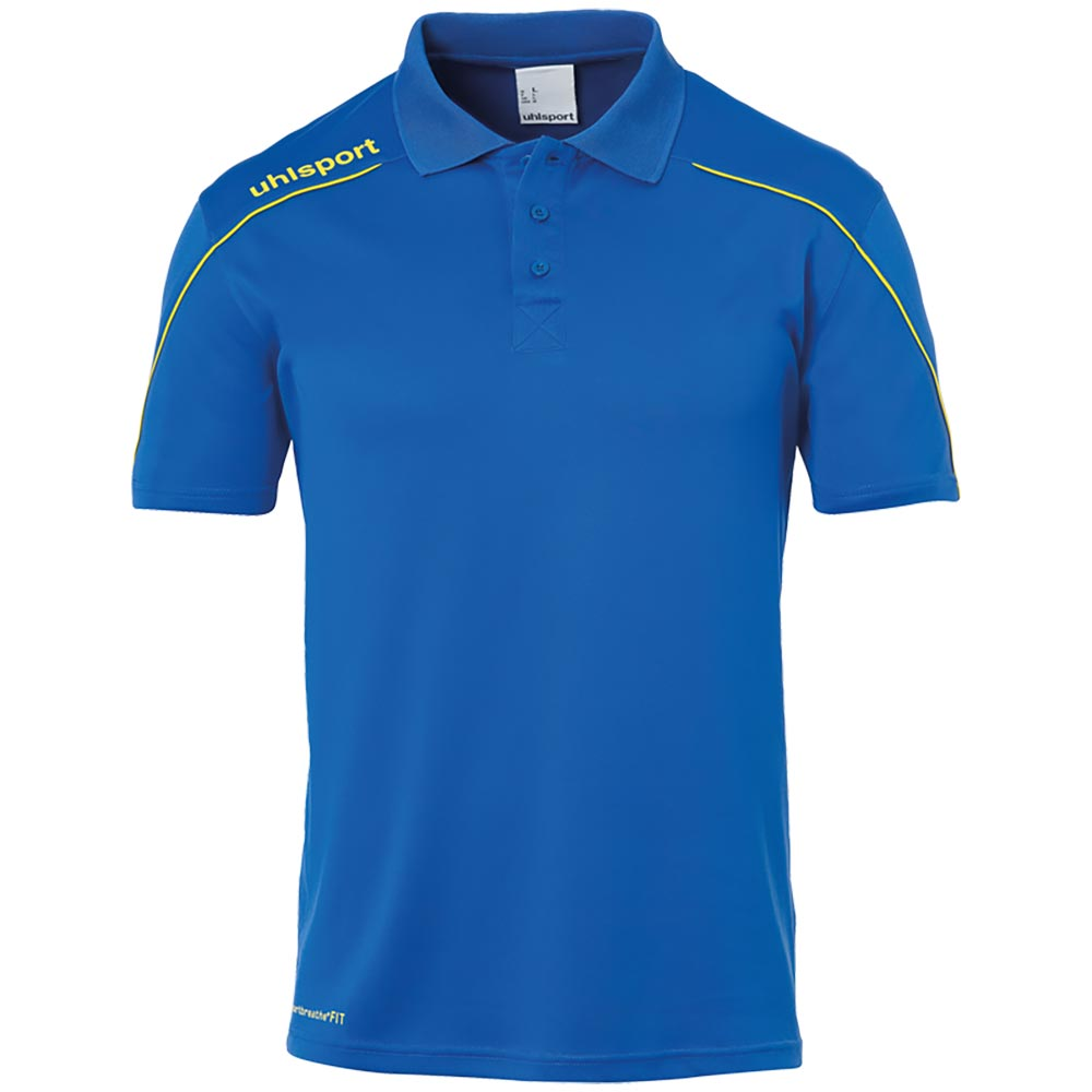 Uhlsport Stream 22 Polo Shirt Herren - blau