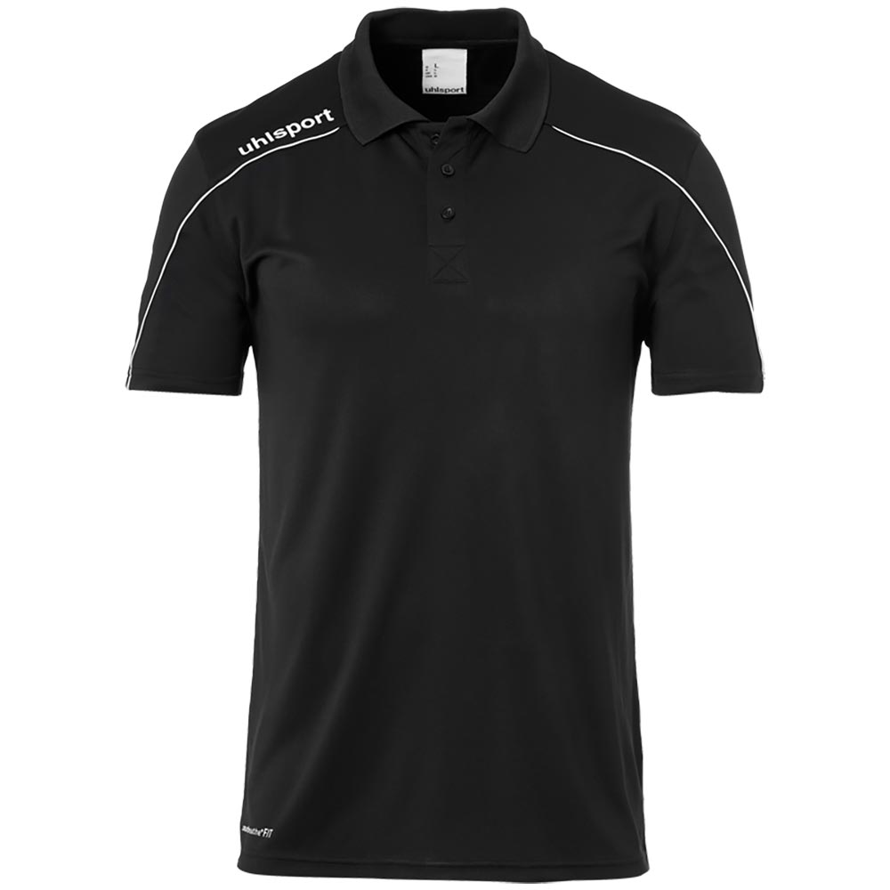 Uhlsport Stream 22 Polo Shirt Herren - schwarz
