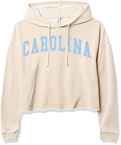 chicka-d NCAA Damen Burnout Campus Hoodie, Damen, Hellbeige, X-Large von chicka-d