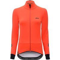 dhb Aeron Deep Winter Womens Softshell  - Orange  - UK 10 von dhb