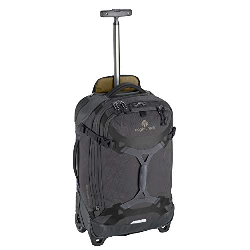 Eagle Creek Gear WarriorTM Wheeled Duffel International CARRY ON Koffer, 55 cm, 37.0 Liter, Jet Black von eagle creek