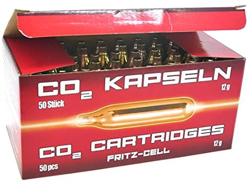 25  x 12g Co2 Kapseln Fritz-Cell Softair Airsoft Luftgewehr Luftpistole Gotcha