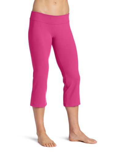 Beyond Yoga Caprihose mit niedriger Taille Small Electric Pink von i am BEYOND