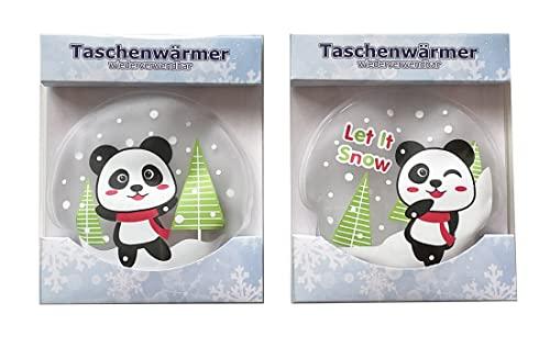 Handw/ärmer Wichtelgeschenk Taschenheizkissen itsisa Taschenw/ärmer Einhorn 2er Set pink