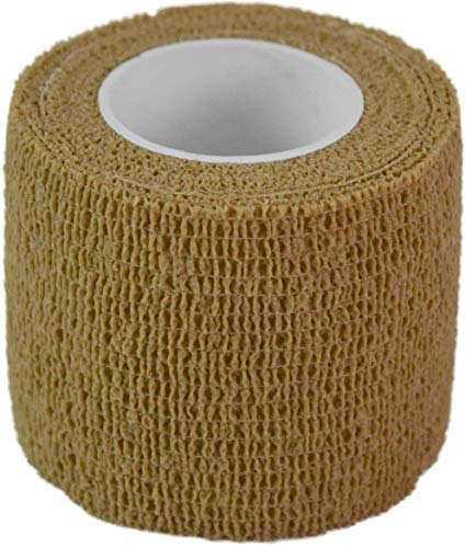 normani Outdoor Tarnband selbsthaftend 5 cm x 4,5 m Farbe Coyote von normani