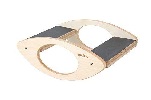 pedalo Wippbrett 45x30 I Gleichgewichtstrainer I Balance Board I Wippe I Koordination I Rehabilitation