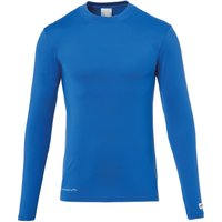 uhlsport Distinction Pro Baselayer Turtle Neck azurblau M von uhlsport