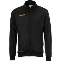 uhlsport Score Track Jacket Kinder schwarz/fluo orange 152 von uhlsport